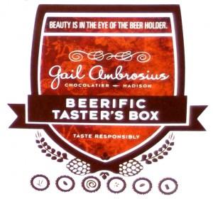 Gail Ambrosius Beerific Taster's Box Logo