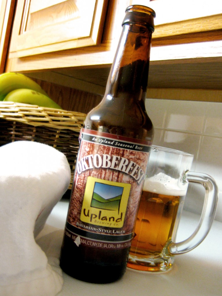 Upland Oktoberfest: Like white shoes after Labor Day