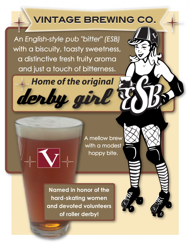 Vintage Derby Girl ESB